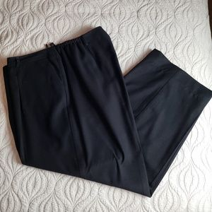 Talbots black wool pants 22W